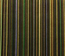 PAUL SMITH MAHARAM EPINGLE OLIVE GREEN STRIPE VELVET DESIGNER FABRIC 4.25 YARDS