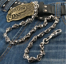 AK Multi Skull Connect Biker Jeans Wallet Key Chain 77