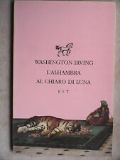 L ALHAMBRA AL CHIARO DI LUNA Washington Irving Romanzo Studio TESI Biba Czersk