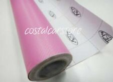 Pink Mazda RX-7 RX-8 MX-5 Series Carbon Fiber Vinyl Sheet - 1500mm X 630mm