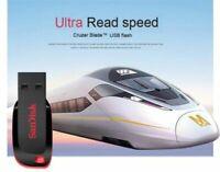 New SanDisk USB Flash Drive Cruzer Blade 4GB Pen Drives USB 2.0