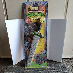 Rare Teenage Mutant Ninja Turtles TMNT Movie III Samurai Sword, New