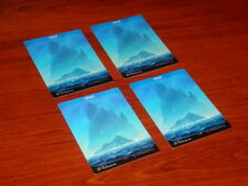 Unstable Island 4x Full Art Land Unplayed Pack Fresh MTG Magic the Gathering