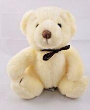 "Russ BROWSY Teddy Bear Plush Cream Sits 6"""