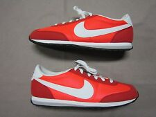 NIKE MACH RUNNER RETRO RED & WHITE RUNNING SNEAKERS SHOES SIZE 11 #303992-600