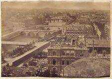 Panorama de Paris Vintage albumine ca 1880