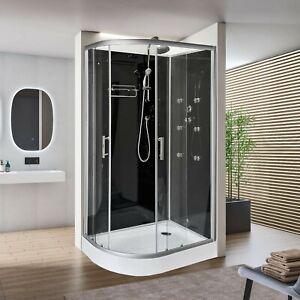 1200x800mm Modern Quadrant Shower Room Cubicle Enclosure Cabin RIGHT CORNER