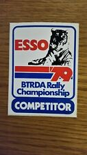 Original Inutilisé Champion Autocollant Course Rallye Motorsport