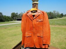 Pre-Owned Men's Startown Vintage Leather Jacket Size 40 Tall