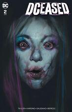 DCEASED 2 BEN OLIVER JETPACK COMICS FORBIDDEN PLANET  EXCLUSIVE Harley Quinn