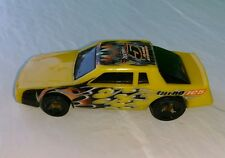 Vintage 1988 Mattel Hot Wheels #5 Yellow Turbo Flame Unique Racing htf Shocker