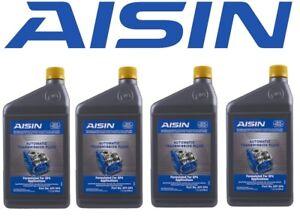 Aisin Set of 4 Auto Trans Fluids ATFSP4 for Hyundai Accent Elantra Kia Forte