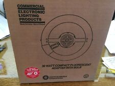 FLUORESCENT ROUND 30 WATT BULB WITH ADAPTOR COMMERCIAL ELECTRONIC