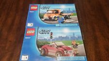LEGO City Flatbed Truck - Tow Truck - (60017) - Manuals Only