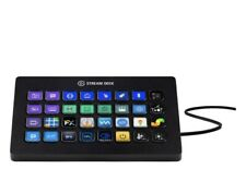 Elgato - Stream Deck XL Wired Keypad with Back Lighting - Black Model:10GAT9901