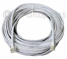 ADSL Cable High Speed RJ11 Broadband Internet Modem Extra Long 20 Metre lead