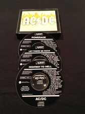 AC/DC BOX SET 3 CD PROTOTYPE ALBERT PRODUCTIONS AUSTRALIAN ACDC PROMO AUSTRALIA
