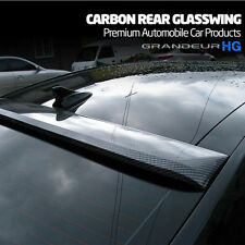 MIK Carbon Fiber Style Rear Roof Glass Wing Spoiler for Hyundai Azera HG 11-14