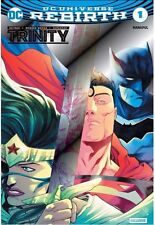 DC UNIVERSE REBIRTH TRINITY 1 NYCC SILVER FOIL VARIANT