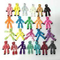 Random 5pcs Zing Stikbot ROBOT ANIMATION Single Figures Kid toy Different Color
