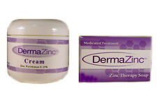 DermaZinc Skin Therapy Duo Cream Bar Soap Skin Zinc Pyrithione