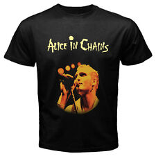 ALICE IN CHAINS  Band Black Size S-M-L-XL-2XL