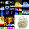 Battery USB 12V LED String Copper Wire Fairy Lights Xmas Party Decor Lamp ST227