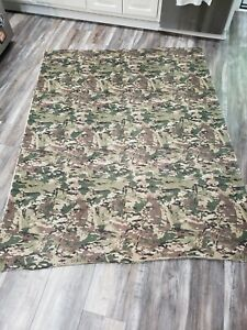 "76"" X 60"" Camouflage material unfinished pattern mesh"