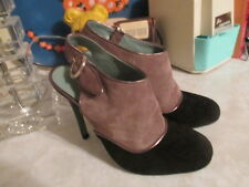 Anthropologie Handmade Paola d'Arcano Morcote Heels Booties Sz 37 US 6.5 7 $398