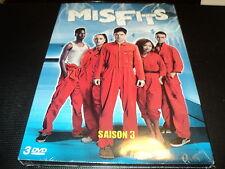 "COFFRET 3 DVD NEUF ""THE MISFITS - SAISON 3"""