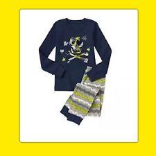 NWT 2T Gymboree GYMMIES sleepwear PJs Pajamas 2pc SKULL CROSSBONES PUZZLE PIECE