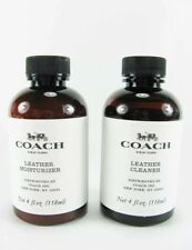 Coach Leather Cleaner And Moisturizer 4oz./118ml Each.  Brand New