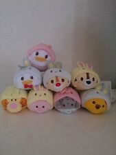 Disney TSUM TSUM Plush Toy 2015 Easter Set of 8 Japan