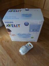 Philips AVENT microwave steam steriliser BPA FREE, SEALING DISCS & DUMMIES *NEW*
