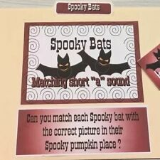File Folder Game - Activity Set -Teaching Supplies Reading Halloween