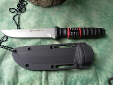 SW993 Couteau De Cou Tactical Smith&Wesson Acier 8Cr13MoV Manche Abs Etui Nylon