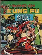 SHANG CHI MAESTRO DEL KUNG FU corno N.25 SINFONIA DI SANGUE sons tiger iron fist