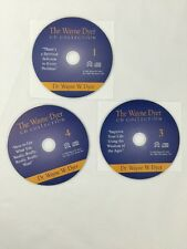 The Wayne Dyer Audio CD Collection REPLACEMENT ONLY of CDs #1 #3 #4 Set of 3