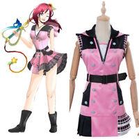Kairi Kingdom Hearts III Kairi Outfit Uniform Cosplay Costume Halloween Full Set