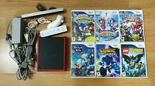 Nintendo Wii Mini Console - Tested & working and 6 games