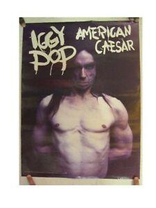 Iggy Pop Poster American Caesar