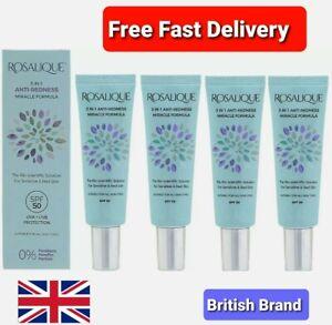 Rosalique Anti-Redness 3 in 1,Miracle Formula SPF50-30ml,Anti Redness Cream