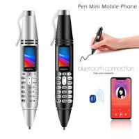 Servo K07 Mini 0.96inch Screen Pen Mobile Phone Dual SIM Card Bluetooth Dialer
