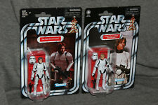 Star Wars Vintage Collection Han Solo Luke Stormtrooper Set of 2 very nice!