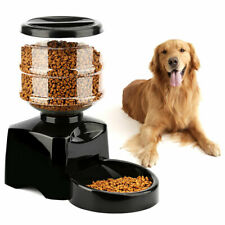 Automatic Program Digital Display Pet Cat Dog Feeder Food Bowl Dispense 5.5L