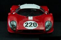 1966 Lemans Ferrari Series Car Model Carousel Red 488f1f430gT40gT250gtO458m6m4m3