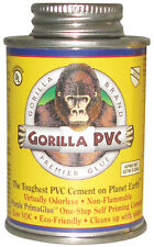 Gorilla PVC  PrimaGlue  Purple  Primer and Cement  For PVC 8 oz.