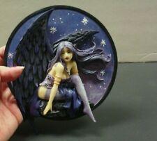 Amy Brown Original Signature Series Dusk Fairy Wall Plaque In Original Box