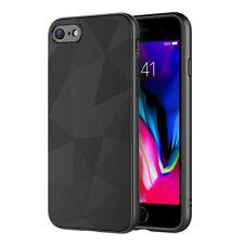 iPhone 7 / 8 Hoesje Magic Triangle Back Cover Zwart Premium Shockproof Case