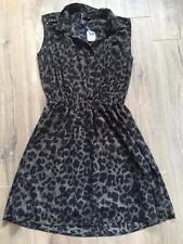 H&M Animal Print Casual Sleeveless Dresses for Women